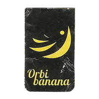 Orbi banana  17,8 x 29,8 mm paper 2015 WF unique