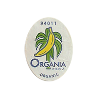ORGANIA ORGANIC 94011  19,3 x 25,1 mm paper before 2012 J Peru unique