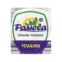Pamela PREMIUM BANANAS  20 x 23,3 mm paper 2015 J Ecuador unique