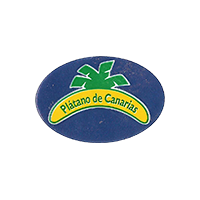 Platano de Canarias  28,1 x 19,1 mm plastic 2014 RG Spain unique