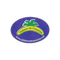 Platano de Canarias www.platanodecanarias.net  28 x 19,1 mm plastic 2014 RG Spain unique