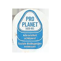 PRO PLANET 1620 001 Artenvielfalt schützend Soziale Bedingungen verbessert  22 x 26,5 mm paper 2015 NB unique