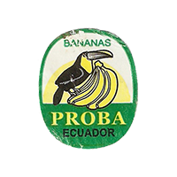 PROBA BANANAS  21,6 x 26,7 mm paper 2012 M Ecuador unique