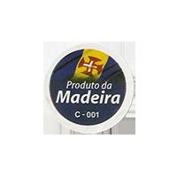 Produto da Madeira C - 001  20 x 20 mm paper 2012 J Portugal unique