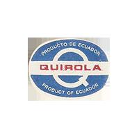 QUIROLA PRODUCTO DE PRODUCT OF  22,7 x 17,6 mm paper before 2012 NB Ecuador unique