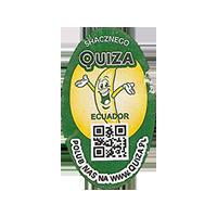 QUIZA SHACZNEGO  POLUB NAS NA WWW.QUIZA.PL  20,2 x 34,6 mm paper 2015 WF Ecuador unique
