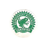 RAINFOREST ALLIANCE CERTIFIED  0 x 0 mm paper 2017 J unique