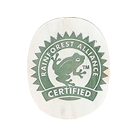 RAINFOREST ALLIANCE CERTIFIED  29,6 x 20,2 mm paper 2017 PM unique