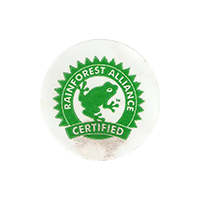 RAINFOREST ALLIANCE CERTIFIED  0 x 0 mm paper 2018 F Costa Rica unique