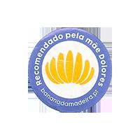 Recomendado pela mae Dolores bananadamadeira.pl  24,9 x 24,9 mm paper 2017 M Portugal unique