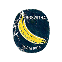 ROSWITHA  22,3 x 26,7 mm paper 2015 KT Costa Rica unique