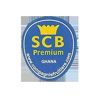 SCB Premium www.compagniefruitiere.com  22 x 25,8 mm paper Ghana unique