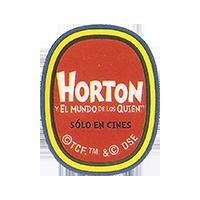 SABROSTAR HORTON  y el mundo di los quien  solo en cines  0 x 0 mm paper 2017 KČ Ecuador unique