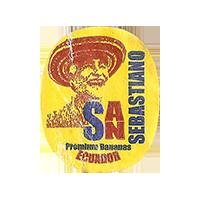 SAN SEBASTIANO Premium Bananas  0 x 0 mm paper 2017 M Ecuador unique