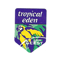 tropical eden GEEST  20,1 x 28,1 mm paper before 2012 NB unique