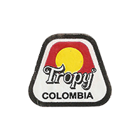 Tropy  22,4 x 19,6 mm paper 2016 J Colombia unique