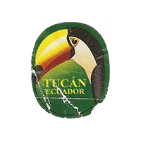 Tucan  22 x 26,7 mm paper 2012 M Ecuador unique