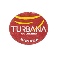 TURBANA BANANA  26,9 x 22,6 mm paper 2012 M Colombia unique