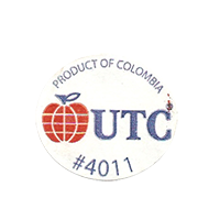 UTC #4011  25,1 x 22,3 mm paper before 2012 Colombia unique