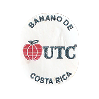 UTC Banano de Costa Rica  0 x 0 mm paper 2018 J Costa Rica unique
