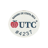 UTC #4237  25,5 x 21,9 mm paper 2011 DK Costa Rica unique
