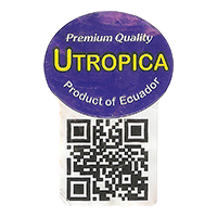 UTROPICA Premium Quality  0 x 0 mm paper 2018 DP Ecuador unique
