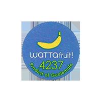 WATTAfruit! 4237  22,1 x 22,1 mm paper 2012 KČ Guatemala unique