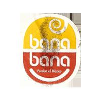 bana bana Product of Mexico  22,2 x 26,5 mm paper 2015 KT Mexico unique