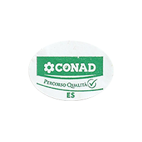 CONAD PERCORCO QUALITA ES  25,6 x 17,9 mm paper 2015 J unique